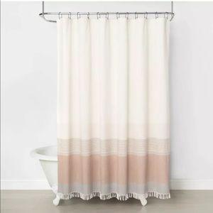 Hearth & Hand W/Magnolia Ombre Shower Curtain